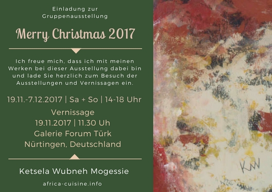 Gruppenausstellung Merry Christmas 2017