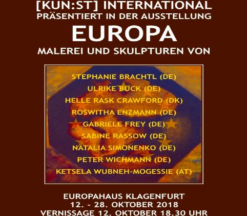 Kunst International - Ausstellung Europa